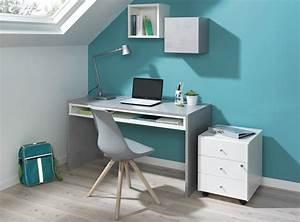Schreibtisch Mit Druckerfach : concrete von wellem bel schreibtisch mit nische beton ~ Michelbontemps.com Haus und Dekorationen