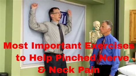 Most Important Exercises to Help Pinched Nerve & Neck Pain