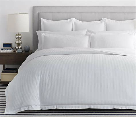 Coverlet Or Duvet by 800 Thread Count Boutique Stripe 100 Cotton
