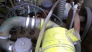 Continental F-245 6 Cylinder Engine Clark Forklift C500-120 Running    Reving
