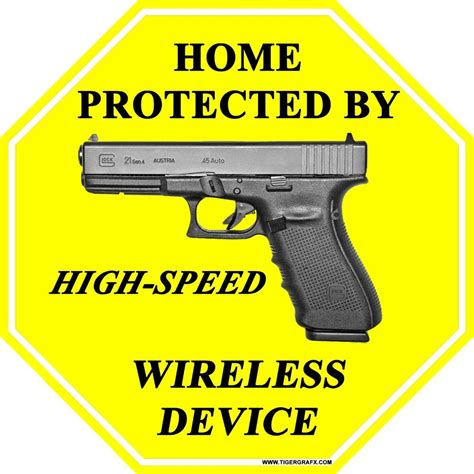 Protected Glock Signs