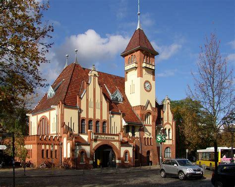 Botanischer Garten Berlin Haltestelle by Wannsee Railway