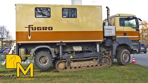 Man Offroad Truck Mobile Drucksonde Raupenfahrzeug