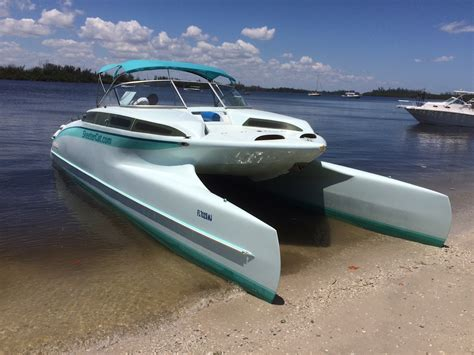 Power Catamaran For Sale In Florida by 2003 Power Catamaran 33 Ft Skeetercat 33 For Sale In
