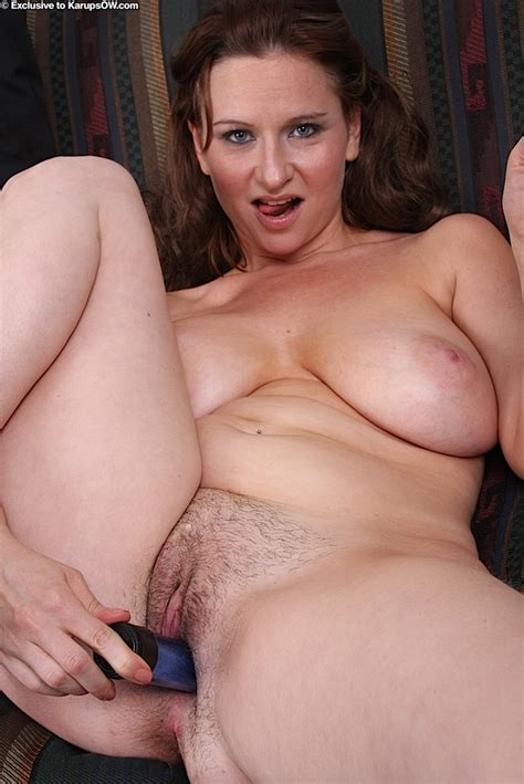 Nasty sexy Brunette Mama With Massive Saggy boobs Stuffs Her hairy Cunt with Dildo The milf