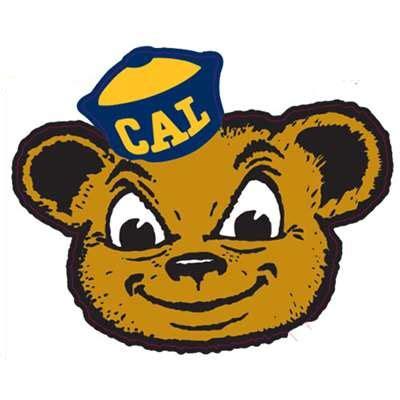 california golden bears mascot logo decal