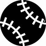 Baseball Symbol Ball Icon Ios Interface Vector