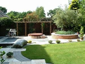 Idee Deco Jardin : jardin minimaliste une tendance moderne ~ Mglfilm.com Idées de Décoration