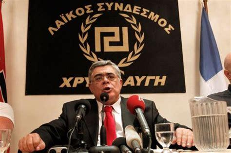 existence des chambres à gaz le chef néonazi élu au parlement grec nie l existence des