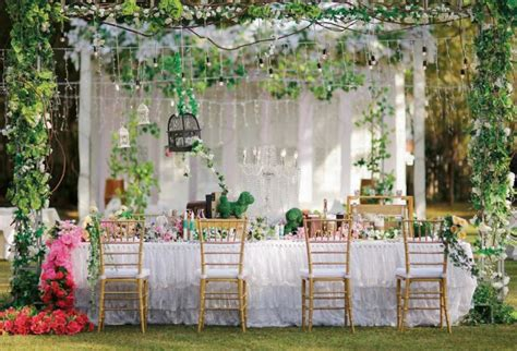perfect wedding garden party weddingkucom