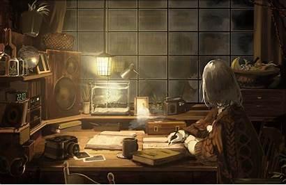Chill Study Wallpapers Rainy Lofi Anime Lo
