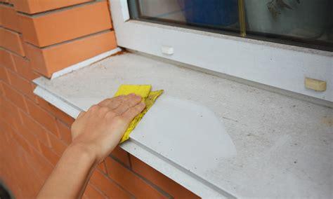 window sill maintenance