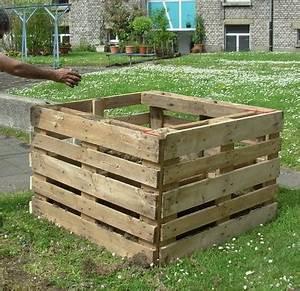 Carré Potager Haut : potager en carr en palette ~ Carolinahurricanesstore.com Idées de Décoration