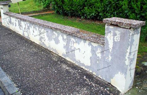renovation mur en exterieur r 233 novation muret ext 233 rieur conseils forum ma 231 onnerie