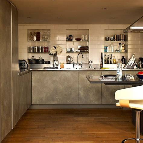 concrete kitchen design 59 cool industrial kitchen designs that inspire digsdigs Industrial