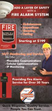 fire alarm systems rampart security
