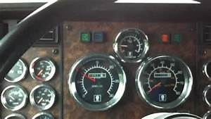 1994 Kenworth T600 Semi Truck Interior Shot