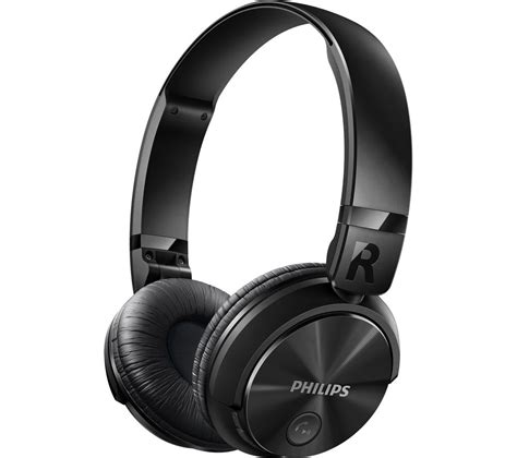 buy philips shb3060bk wireless bluetooth headphones black free delivery currys