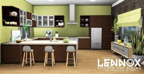 sims  blog updated lennox kitchen  dining set  peacemaker ic