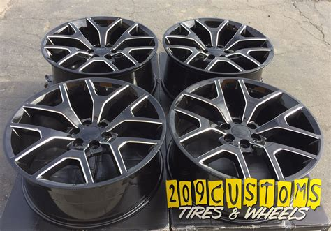 26 quot gmc replica black milled rims wheels tires 26x10 6x139 7 31 ships free ebay