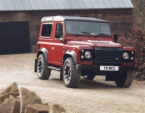 Land Rover Defender V8 2018 Limited Edition Car To Go On