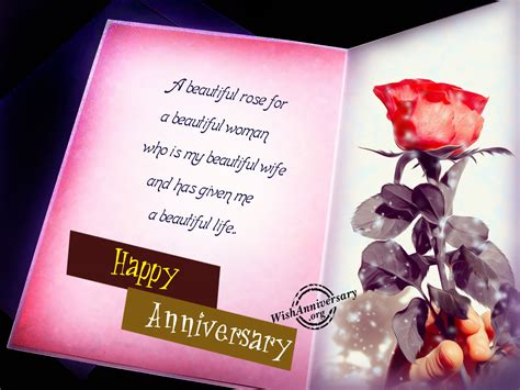 Beautiful Happy Anniversary by Anniversary Wishes For Pictures Images Page 4