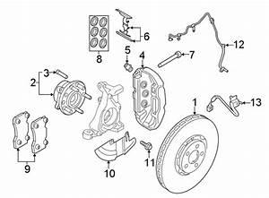 2015 Ford Mustang Disc Brake Pad Set  Front