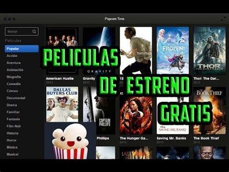 Descarga y ve online películas dvdrip completas en español, latino y subtituladas gratis y sin límites. Ve Peliculas de estreno Gratis con Popcorn Time - YouTube