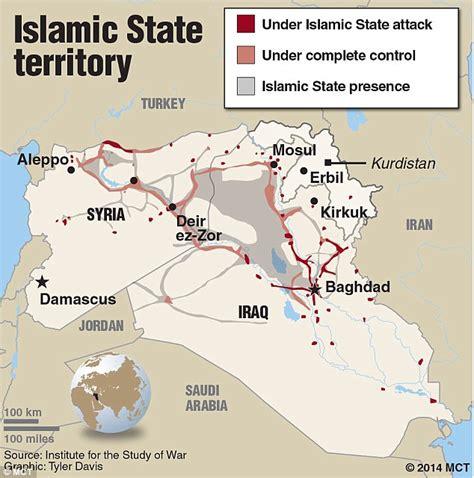 islamic state  maps