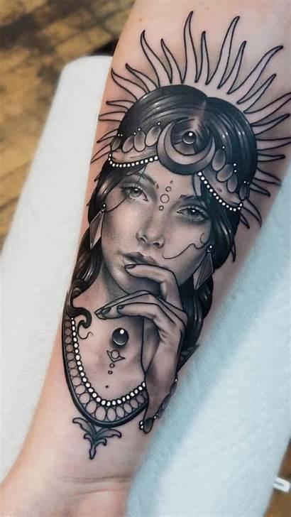 Tattoo Tatuajes Tattoos Artist Oberarm Frau M113