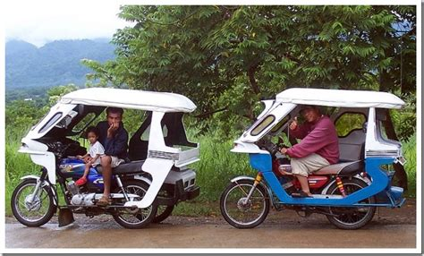 philippine tricycle design taking it slow public transport in south east asia