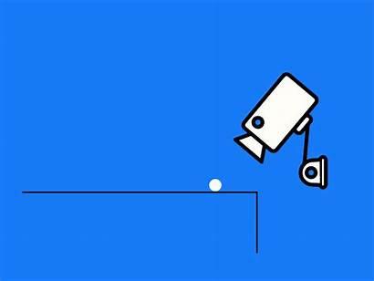Cctv Camera Gifs Ball Bounce Dribbble Codepen