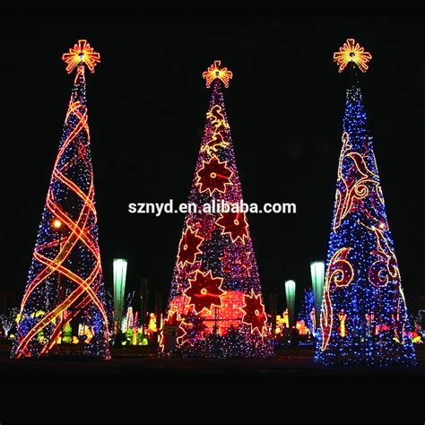 lighted christmas tree decoration 2015 giant christmas tree for outdoor decorations