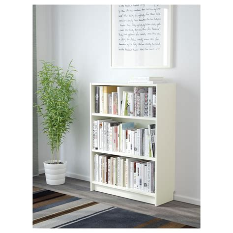 ikea billy bookcase xxcm white home office
