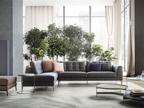 Divano Lineare Design, Per Salotto Moderno