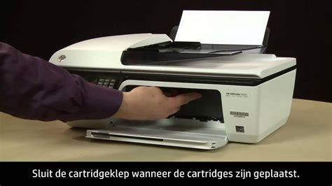 The 123.hp.com/oj2622 airprint™ is a mobile printing solution compatible with apple ios and later operating systems. Een printcartridge vervangen in de HP Officejet 2620 All-in-One Printer - YouTube