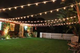 patio cafe style lighting adds so much and charm to