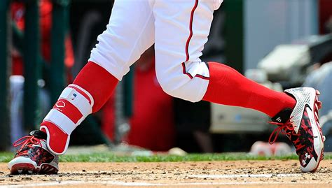 pros wear bryce harpers evoshield leg guard