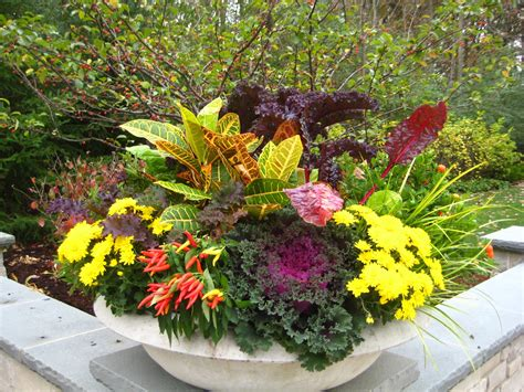 Fall Container Flower Ideas With Photos Yahoo Search