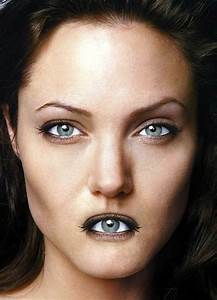 Celebs With Switched Mouths And Eyes