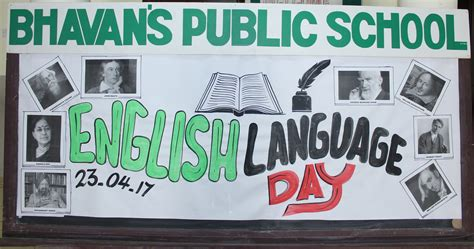 English Language Day | Bhavans Qatar
