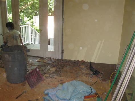 Preparing Subfloor For Slate Tile preparing floor for tile