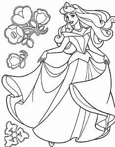 Cinderella Coloring Pages Free Printable Coloring