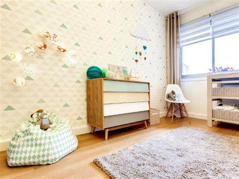 papier peint chambre parentale chambre de bébé un aménagement feng shui tout en
