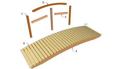 woodwork garden bridge plans pdf plans