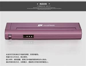 mini portable printer gwp 80 car thermal printer a4 With mini document printer