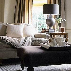 Rideau Salon Gris : couleur salon taupe lin gris et beige ~ Teatrodelosmanantiales.com Idées de Décoration