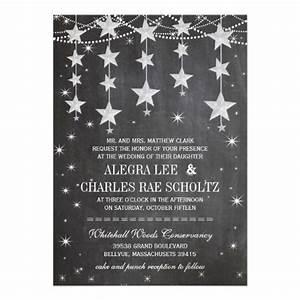 rustic wedding chalkboard under the stars card wedding With wedding invitations under 50p