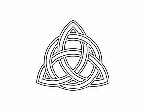 Symboles De Protection Celtique : triquetra noeud de trinit symbole celtique d 39 ternit vecteur illustration de vecteur ~ Dode.kayakingforconservation.com Idées de Décoration
