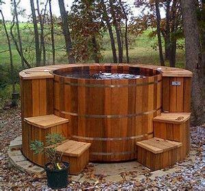 redwood soaking tub real build their own tubs house tub
